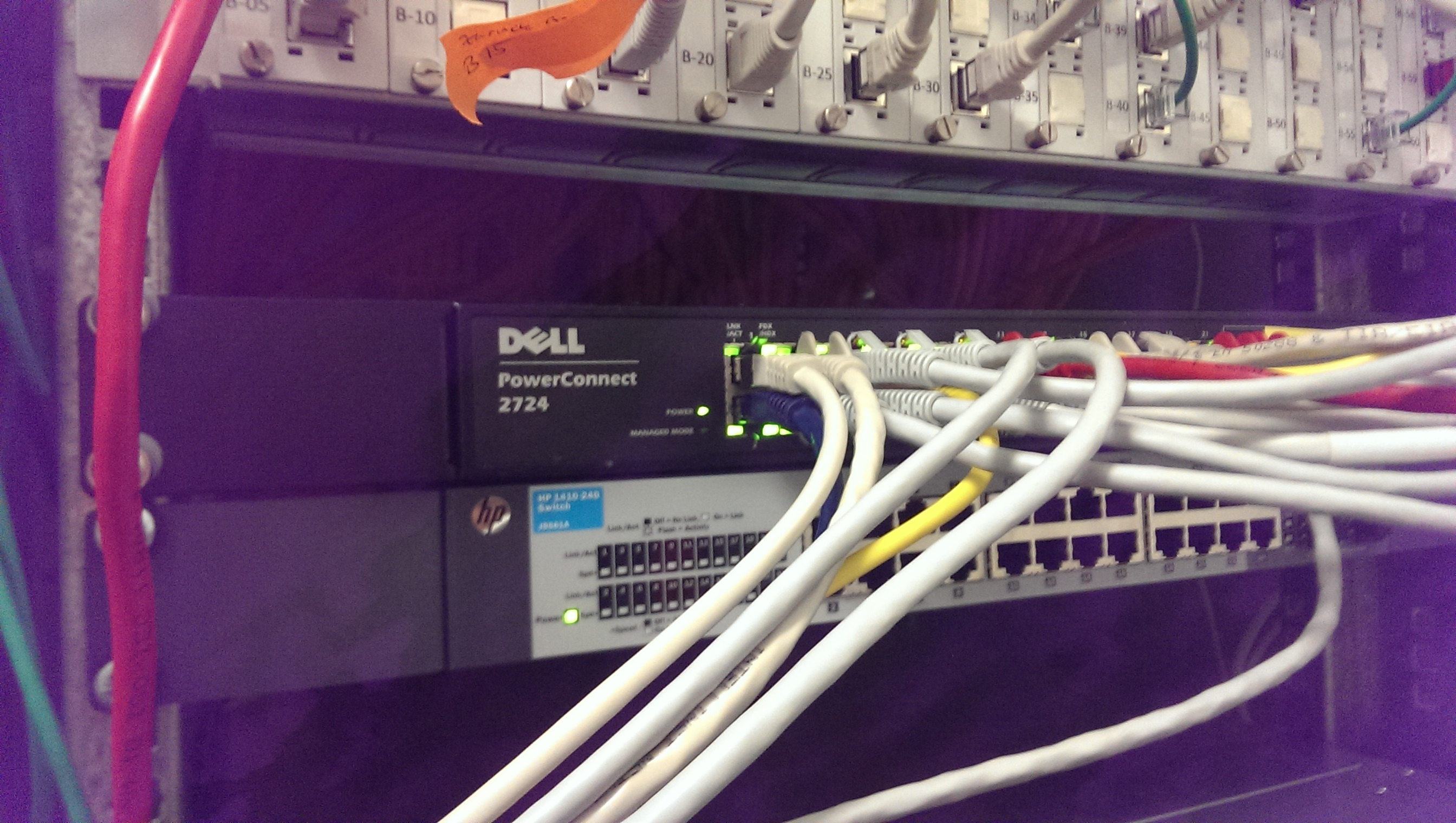 Netzwerk Verbindungen