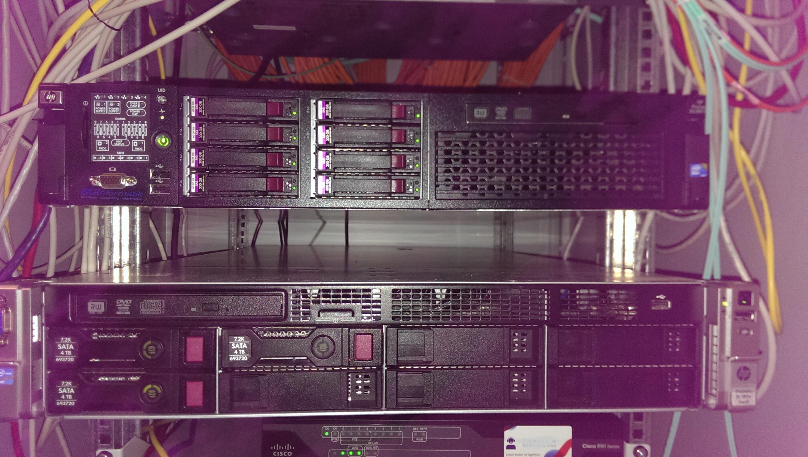 Server Konzept und Installation