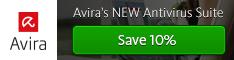Avira's neue Antivirus Suite mit 10% Rabatt